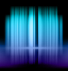 abstract background with blue and purple lights vector image