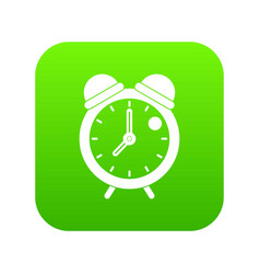 alarm clock retro classic design icon digital vector image