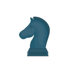 Chess game concept vector image