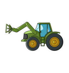 Combine with long hydraulic legs to capture the vector