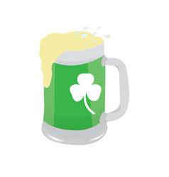 glasss of beer vector image