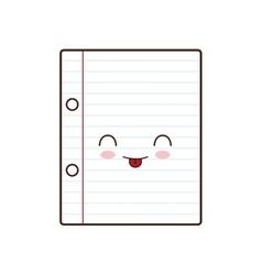 notebook class school instrument icon vector image