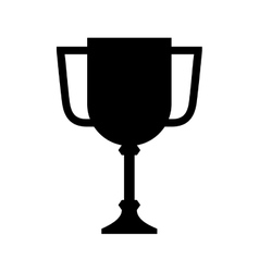 Trophy cup award isolated icon vector