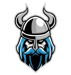Vikings head vector