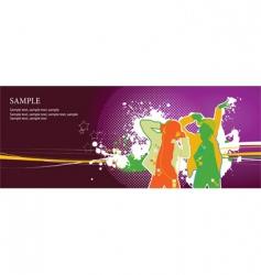 dancers vector image vector image