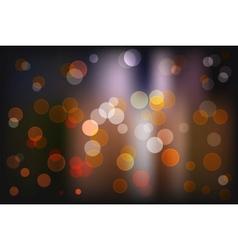 Bokeh light vintage background eps10 vector image