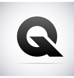 logo for letter Q Design template vector image vector image