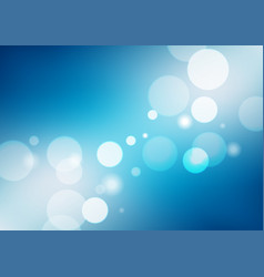 Abstract blue gradient background with lights vector