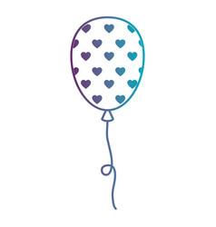 balloon air party decoration vector image vector image
