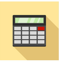 Calculator icon flat style vector
