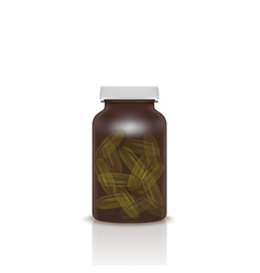 Cosmetic capsule of omega 3 oil or vitamin e a vector