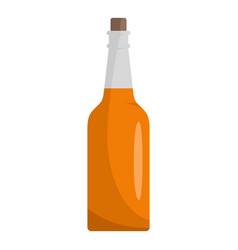 kitchen bottle icon flat style vector image