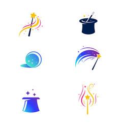 magic element icon vector image