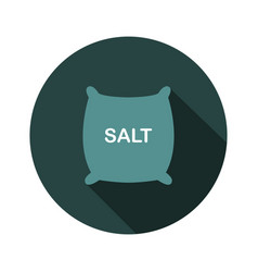 Salt icon vector
