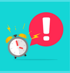Urgency time to action important reminder caution vector