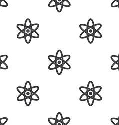 atom seamless pattern vector image