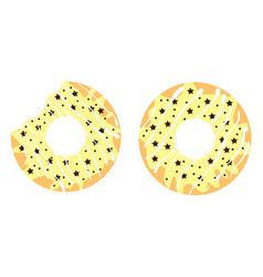 donuts5 vector image vector image