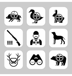 Hunt vector image vector image