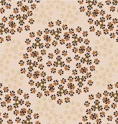 pattern-with-animal-paws-1 vector image