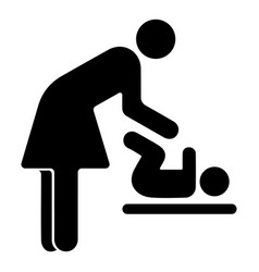 room for mother and child vector image