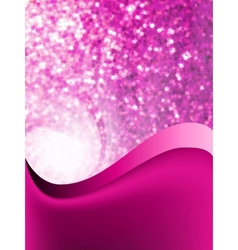Abstract purple glow vector image vector image