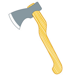 ax tool icon vector image