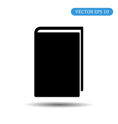 book icon eps 10 vector image