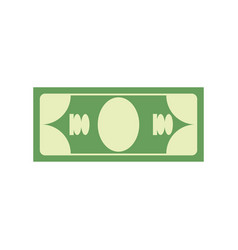 Cash sign dollar symbol money emblem financial vector