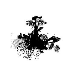 Castle family concept vector