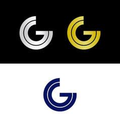 CG initials vector