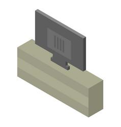 Home cinema icon isometric style vector
