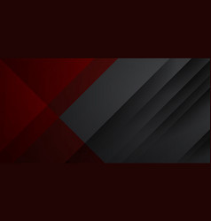 Modern corporate concept red black grey contrast vector
