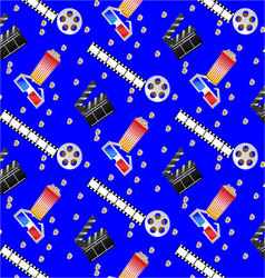 Pattern cinema vector image