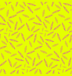 pattern plant decorative graphic vector image
