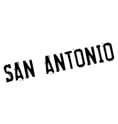 San Antonio stamp vector image