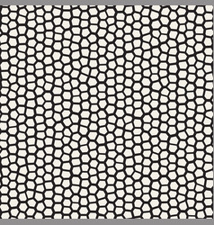 seamless irregular lines mosaic pattern abstract vector image