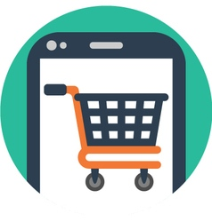 Shopping App vector