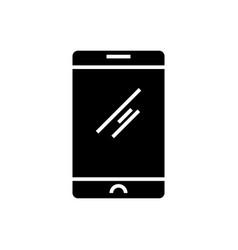 smartphone classic icon vector image