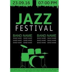 Jazz festival banner vector image vector image