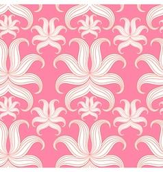 Pink Design pattern for wallpaper background vector image vector image