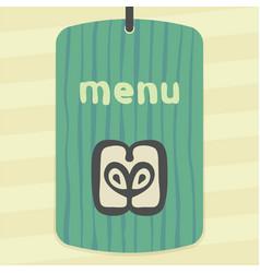apple slice fruit icon modern infographic logo vector image