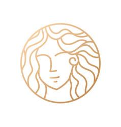 Goddess logo vector