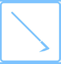 Hoe icon vector