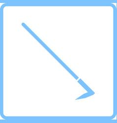 hoe icon vector image