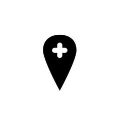 location icon symbol sign vector image