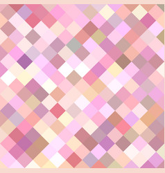 Pink diagonal square pattern background vector