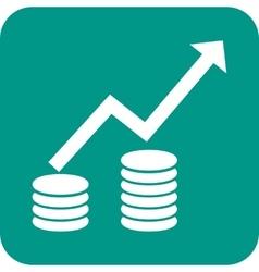 Rising Economy II vector image vector image