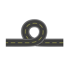 Road with loop vector