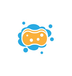 sponge icon design template isolated vector image