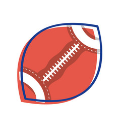 Football ball to training play game sport vector